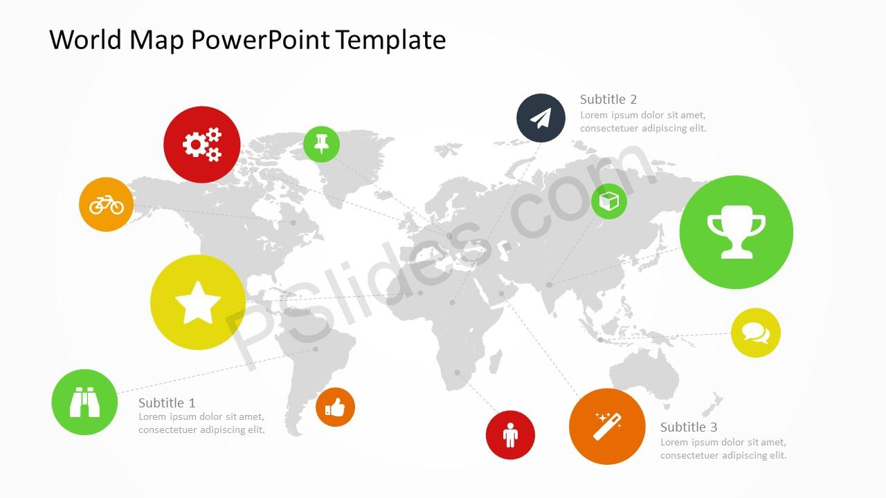 Us Map Powerpoint Template Free