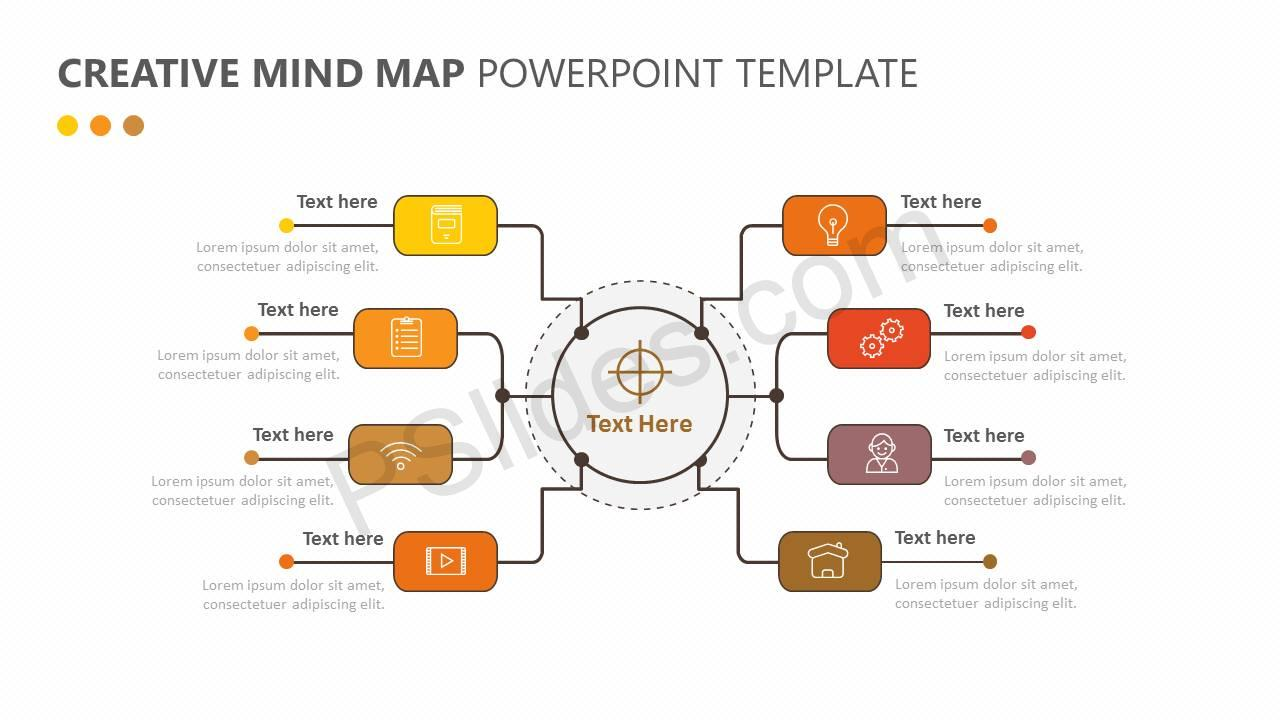 Mind Map PowerPoint Templates and Backgrounds for Your