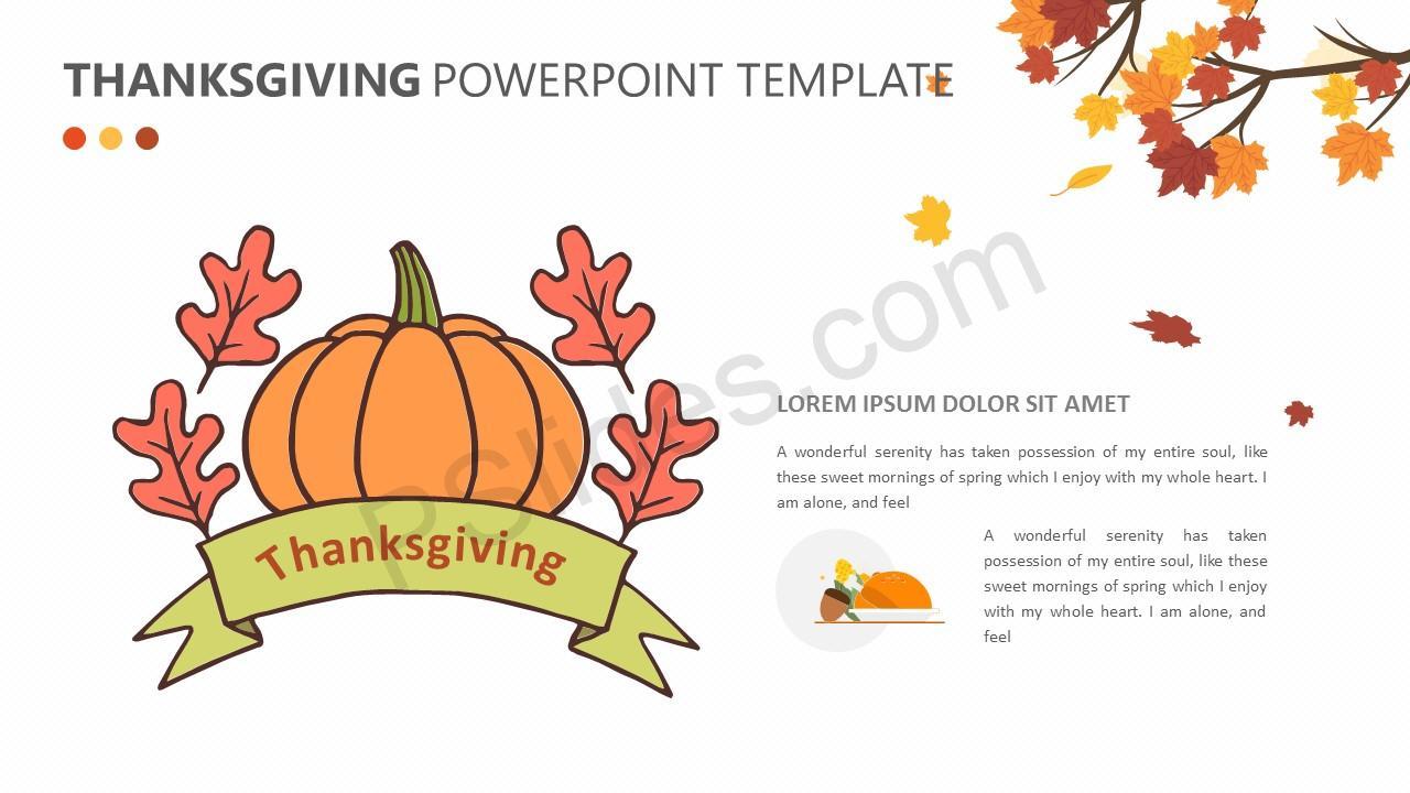 Free Thanksgiving Powerpoint Templates Mandegarfo