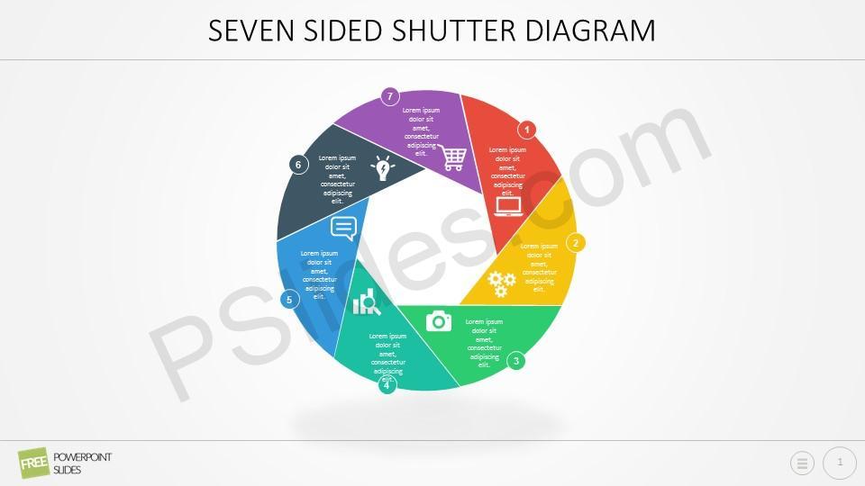 Free Seven Sided Shutter Diagram