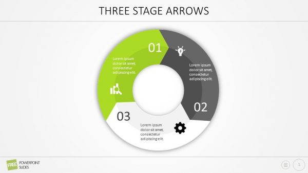 Three Stage Arrows
