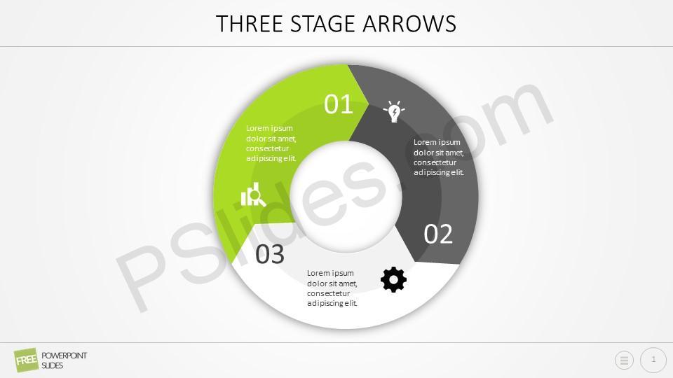 Three Stage Arrows