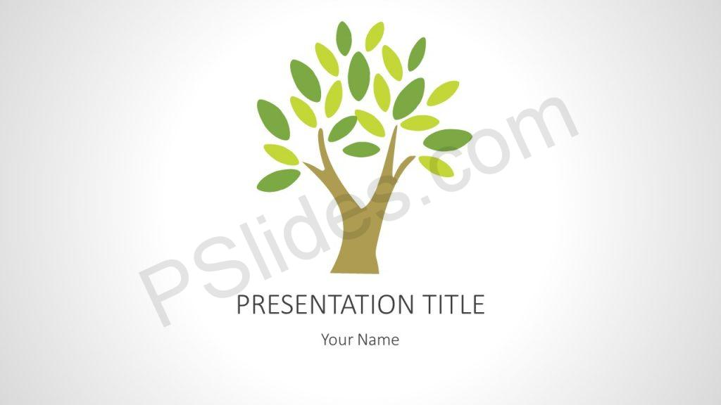 Free Tree PowerPoint Background
