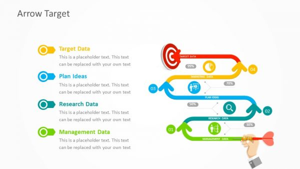 arrow-target-timeline-for-powerpoint