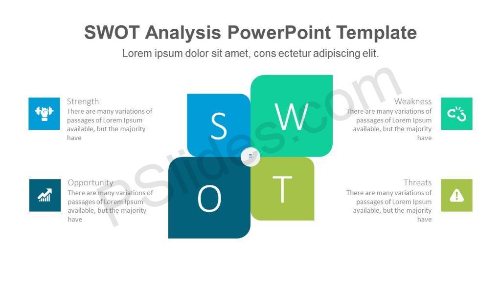 Modern SWOT PowerPoint Template
