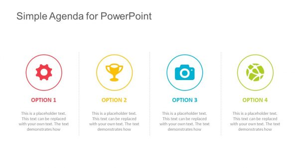 Free Simple Agenda Template for PowerPoint