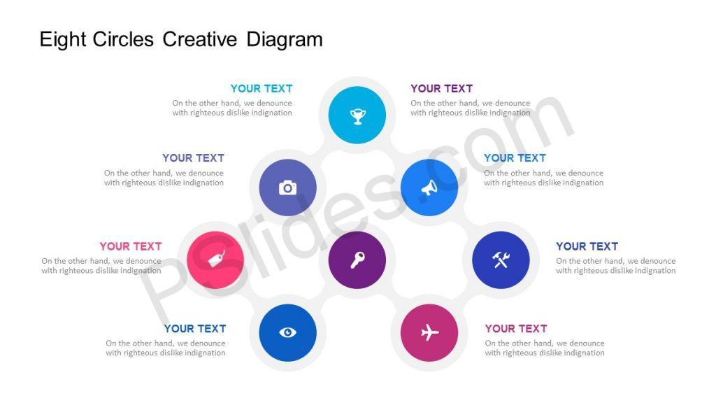 Eight Circles Creative Diagram