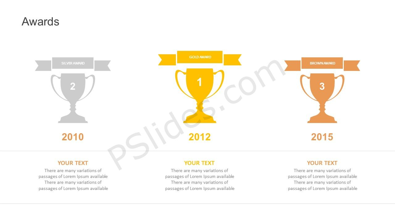 Awards powerpoint template free awards powerpoint template alramifo Images