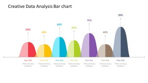 Creative Data Analysis Bar Chart for PowerPoint