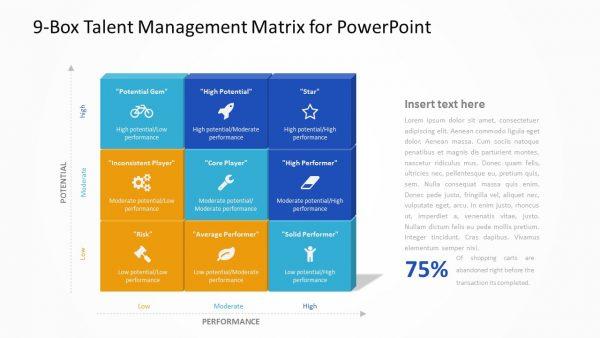 9-Box Talent Management Matrix for PowerPoint