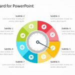 Flat Dashboard for PowerPoint