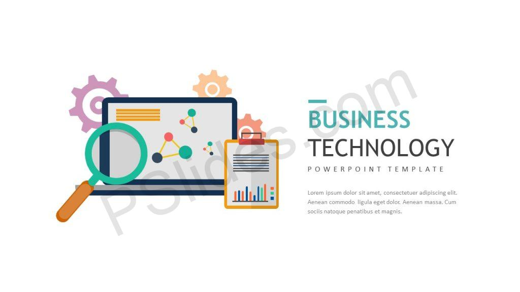 Business Technology Slide 1