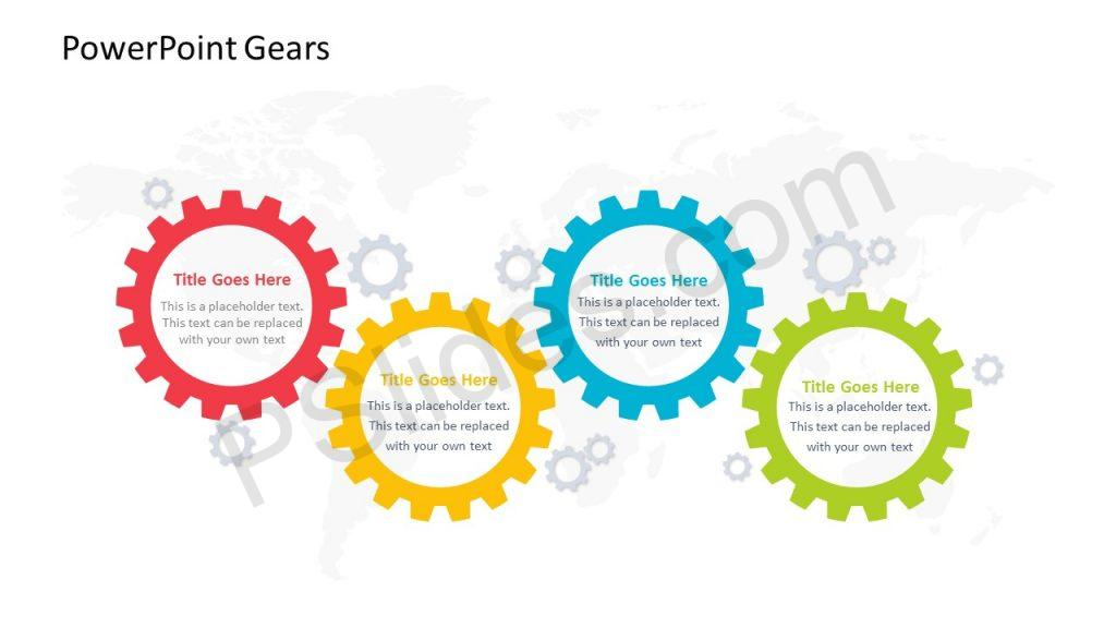 PowerPoint Slide of Gears
