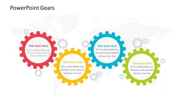 PowerPoint Slide of Gears