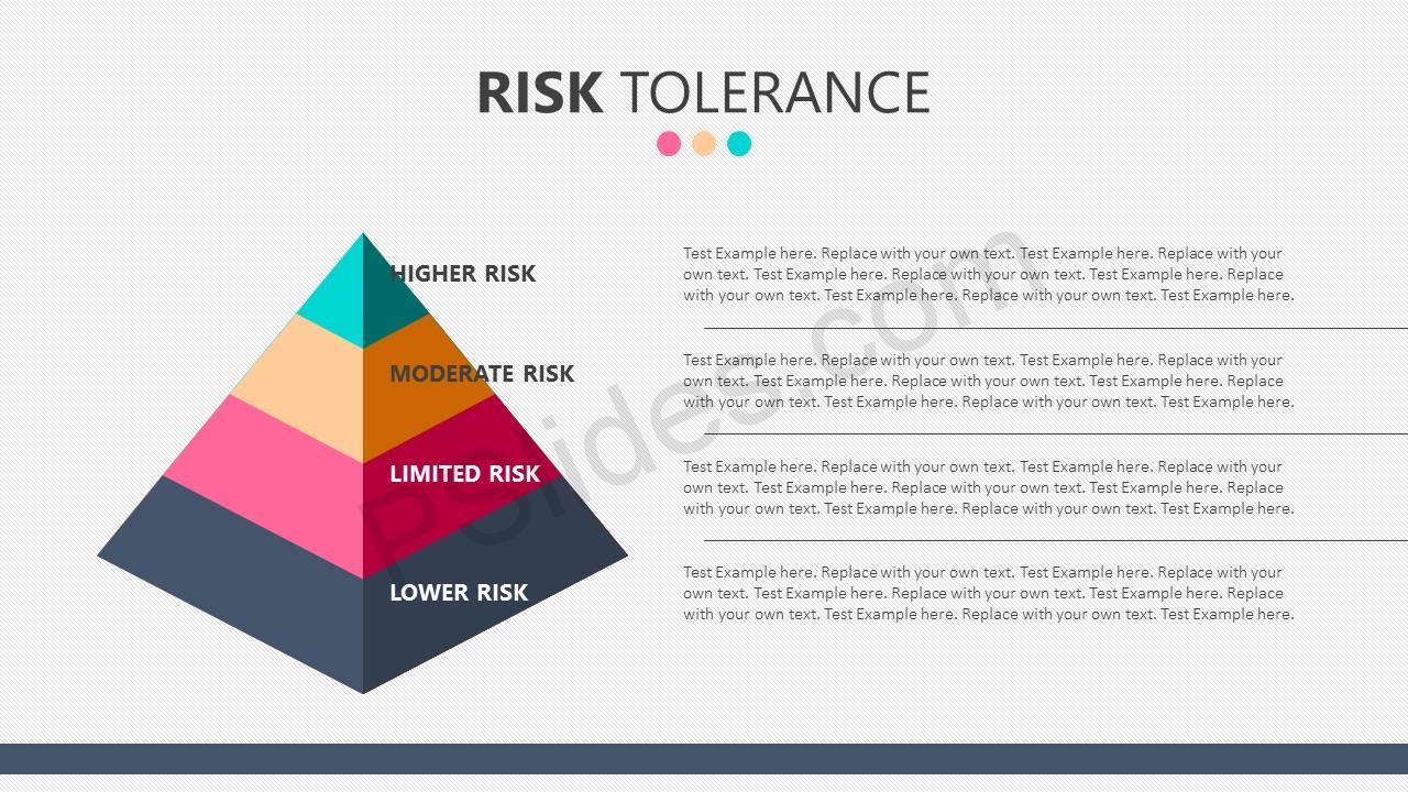 Risk tolerance powerpoint template pslides risk tolerance powerpoint template risk tolerance pyramid alramifo Images
