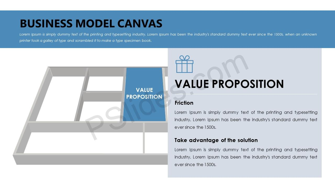 Value proposition canvas for powerpoint pslides business model canvas value proposition toneelgroepblik Gallery