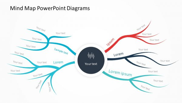 Mind Map Diagram Slide 1