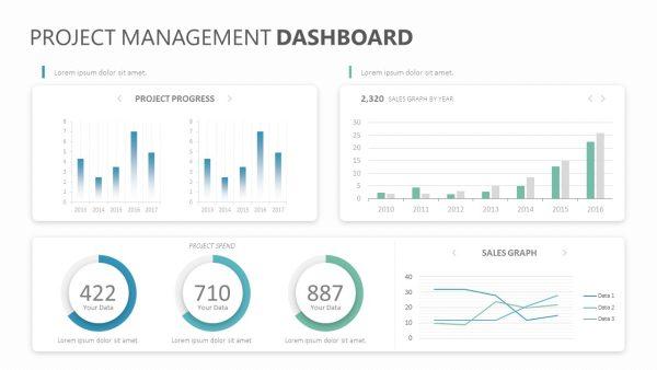 Project Management Dashboard Slide 1