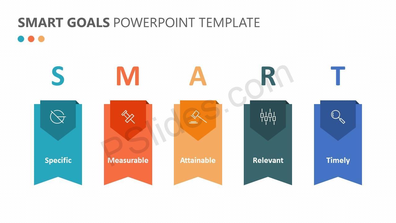 smart goals powerpoint template pslides. Black Bedroom Furniture Sets. Home Design Ideas