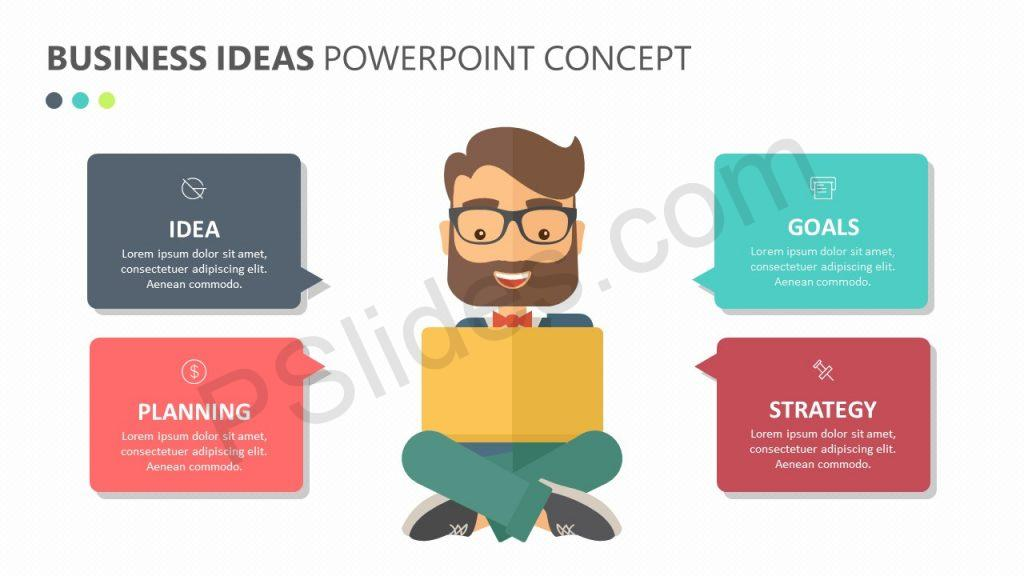 Business Ideas PowerPoint Concept Slide 1