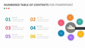 Numbered Table of Contents for PowerPoint
