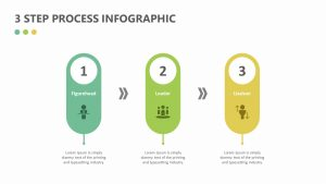 Free  3 Step Process Infographic