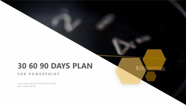 30 60 90 Day Plan for PowerPoint