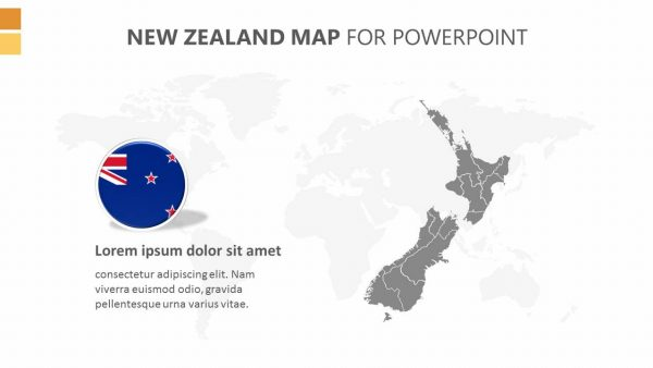 Editable powerpoint map of hong kong pslides north america powerpoint map new zealand map powerpoint template toneelgroepblik Image collections