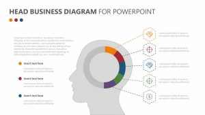 Head Business Diagram for PowerPoint