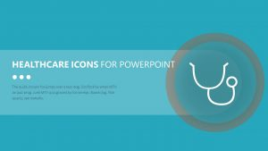 Healthcare Icons for PowerPoint