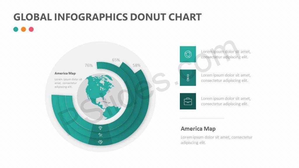 Global Infographics Donut Chart