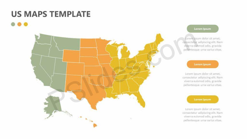 US Maps Template