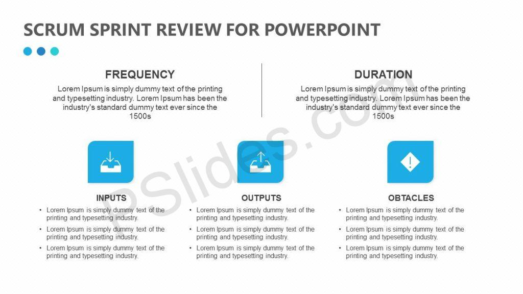 Free Scrum Sprint Review for PowerPoint