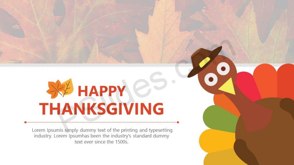 Thanksgiving PowerPoint Template (2)