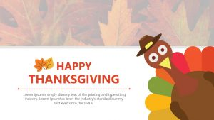 Free Thanksgiving PowerPoint Template