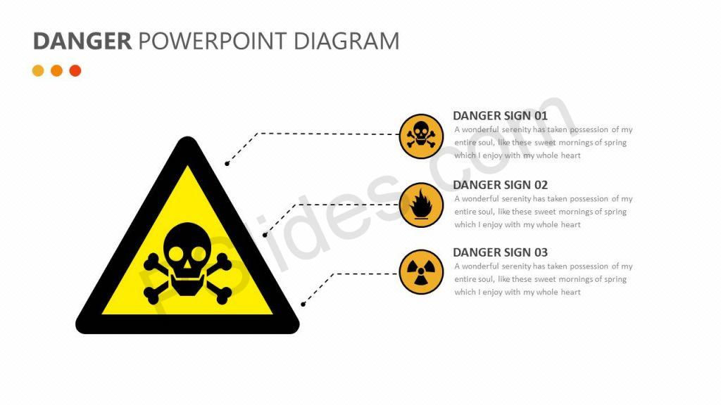 Danger PowerPoint Diagram