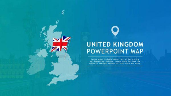 United Kingdom PowerPoint Map