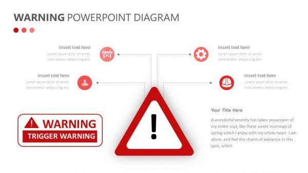 Warning PowerPoint Diagram