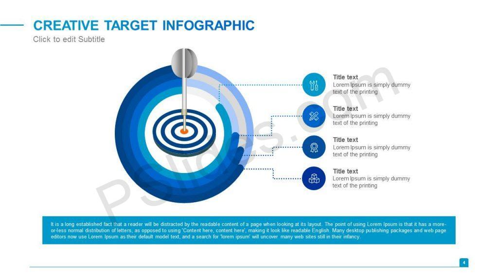 Creative Target Infographic