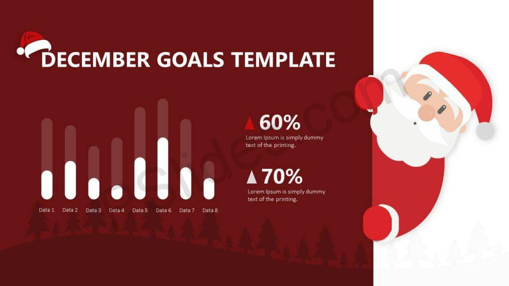 December Goals for PowerPoint Slide1