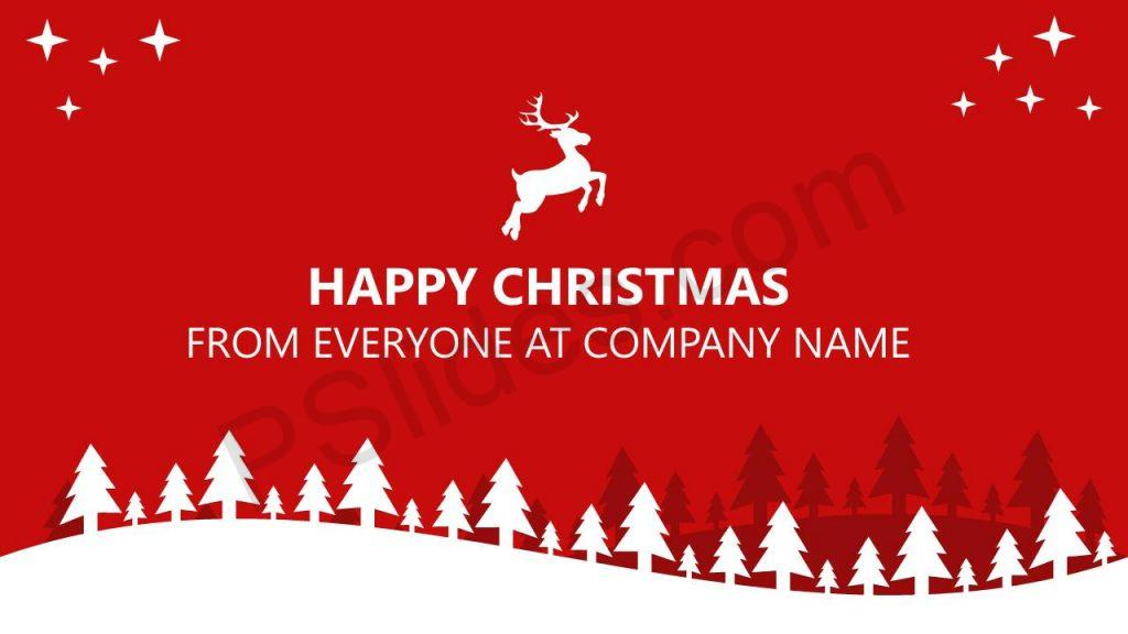 PowerPoint Christmas Card Slide1
