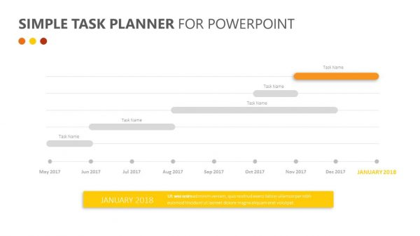 Simple Task Planner for PowerPoint
