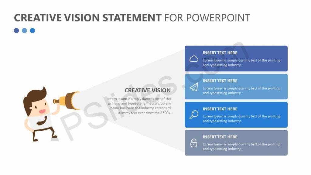 Creative Vision Statement for PowerPoint Slide1