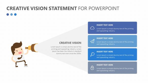 Creative Vision Statement for PowerPoint