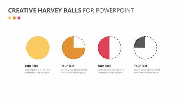 Creative Harvey Balls for PowerPoint
