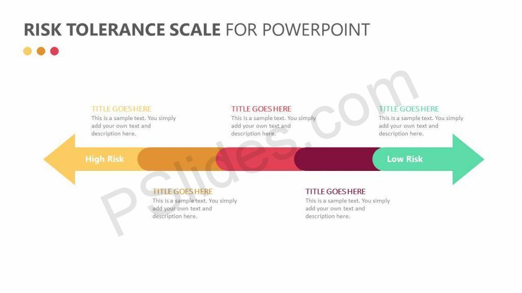 Risk Tolerance Scale for PowerPoint Slide 2