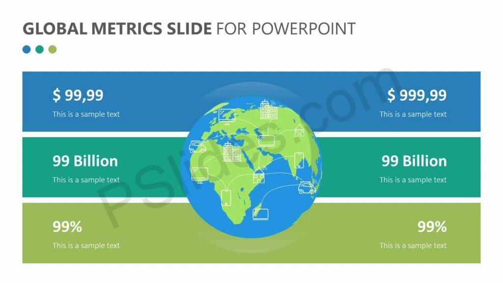 Free Global Metrics Slide for PowerPoint
