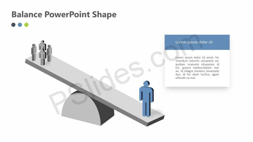 Balance PowerPoint Shape