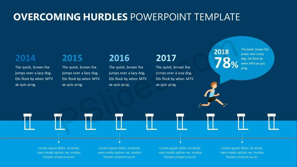 Powerpoint templates slides pslides overcoming hurdles powerpoint template toneelgroepblik Choice Image