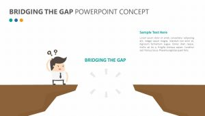 Bridging the Gap PowerPoint Concept